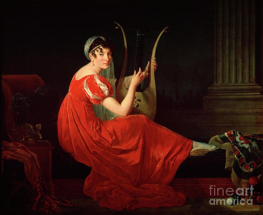 Portrait Of Josephine Budayevskaya Drawing by Heritage Images