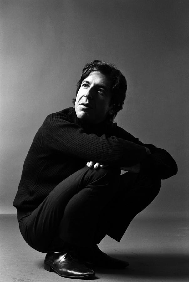 Portrait Of Leonard Cohen Photograph by Jack Robinson