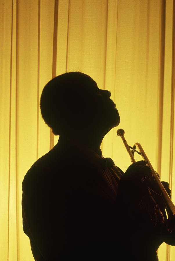 Portrait Of Louis Armstrong Photograph by John Loengard