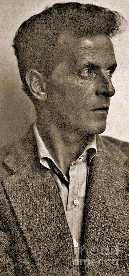Wittgenstein Photograph - Portrait Of Ludwig Wittgenstein, 1947 by English School