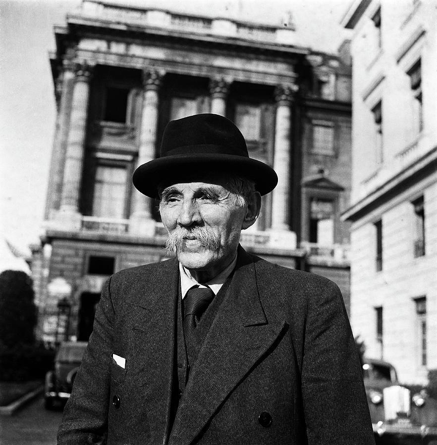 Portrait Of Marcel Cachin Around 1935 Photograph by Keystone-france