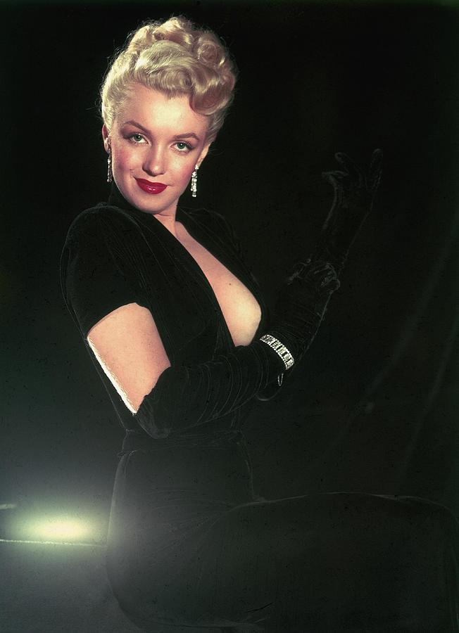 Portrait Of Marilyn Monroe Photograph by Ed Clark