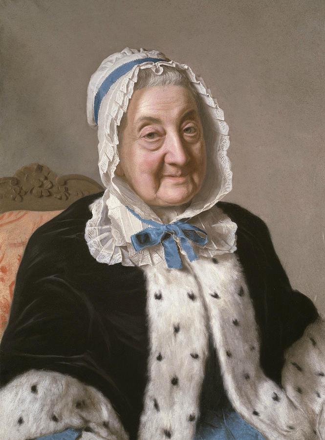 Portrait of Marthe Marie Tronchin by Jean-Etienne Liotard