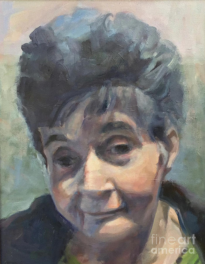 Portrait of Mary by Deb Putnam