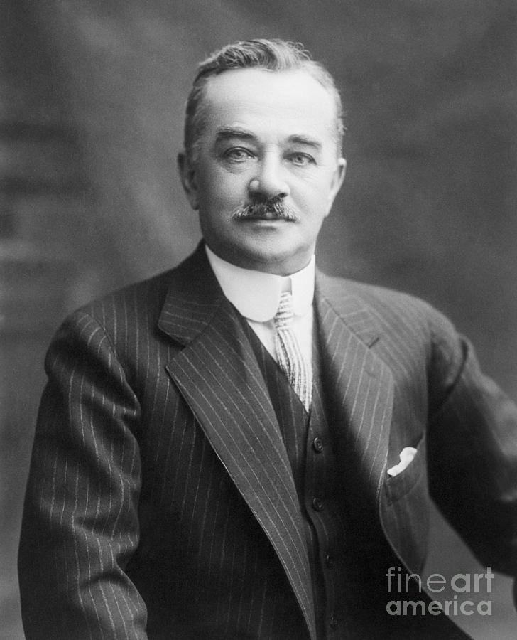 Portrait Of Milton S. Hershey Photograph by Bettmann