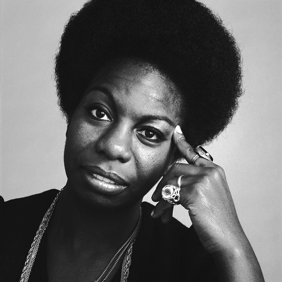 Nina Simone Photograph - Portrait Of Nina Simone by Jack Robinson