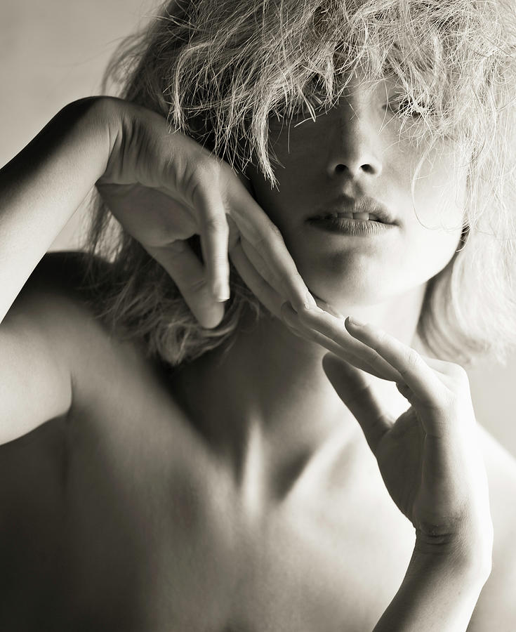 Portrait Of Nude Female Photograph by Tyler Stableford