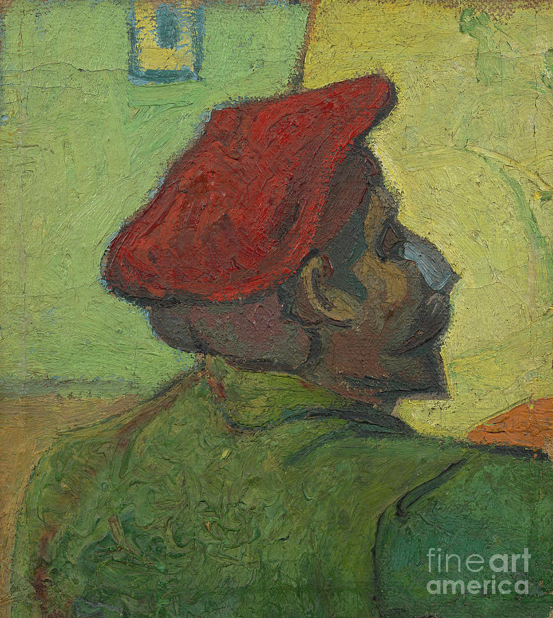 Portrait Of Paul Gauguin 1848-1903 Drawing by Heritage Images