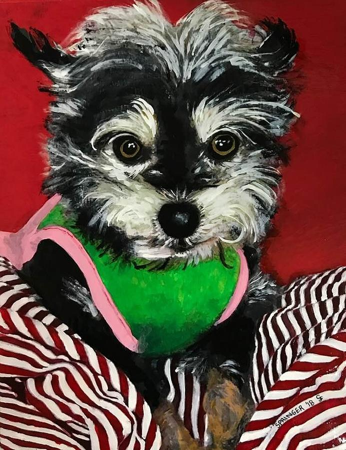 Portrait of Pebbles by Gary Springer