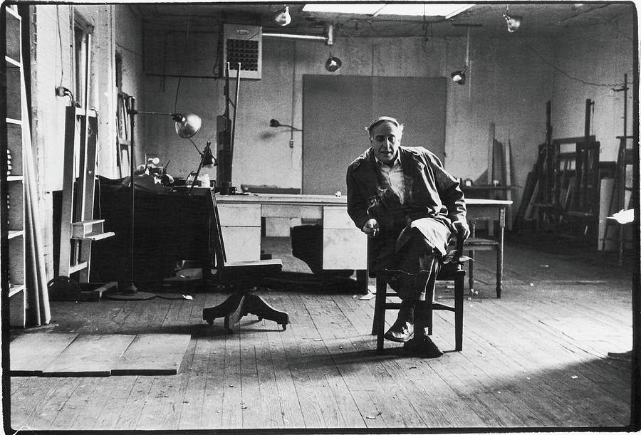 Portrait Of Philip Guston Photograph by Fred W. McDarrah