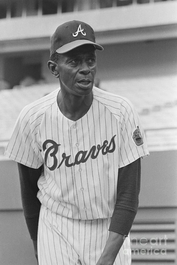 Portrait Of Pitcher Satchel Paige Photograph by Bettmann