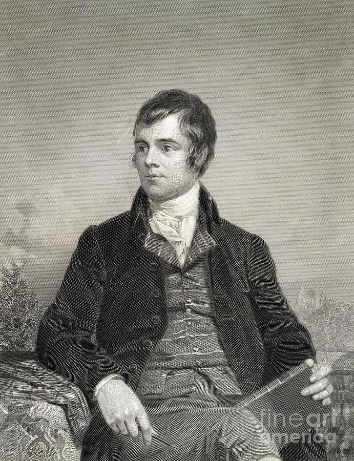 Portrait Of Poet Robert Burns Photograph by Bettmann