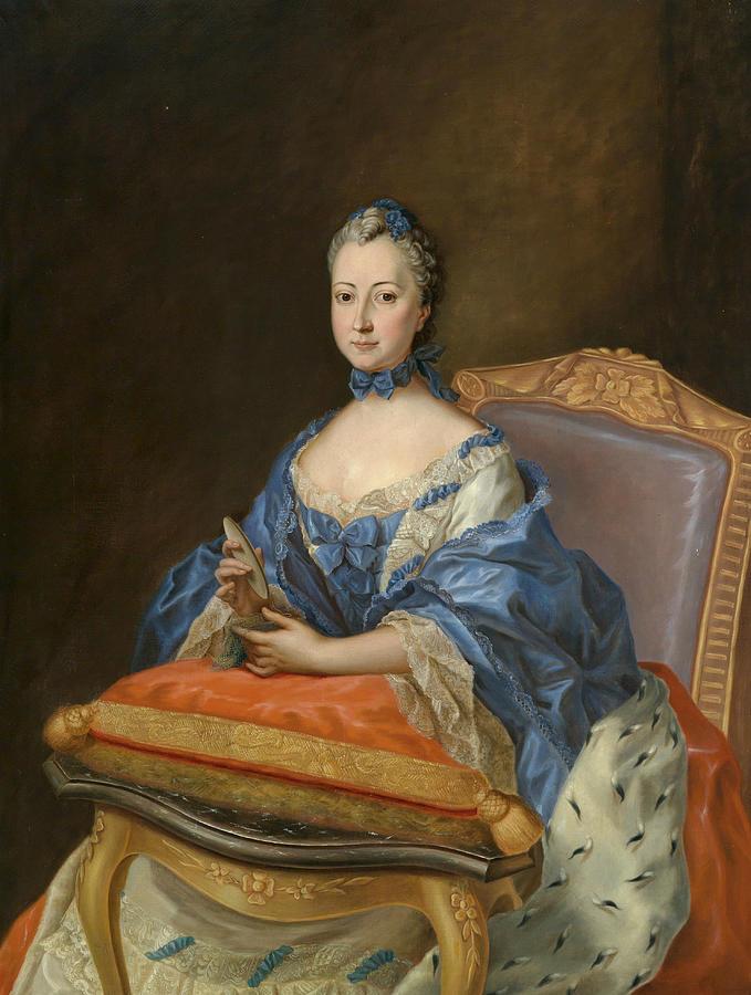 Portrait of Princess Sophie Charlotte by Johann Heinrich Tischbein