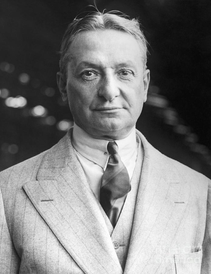 Portrait Of Producer Florenz Ziegfeld Photograph by Bettmann