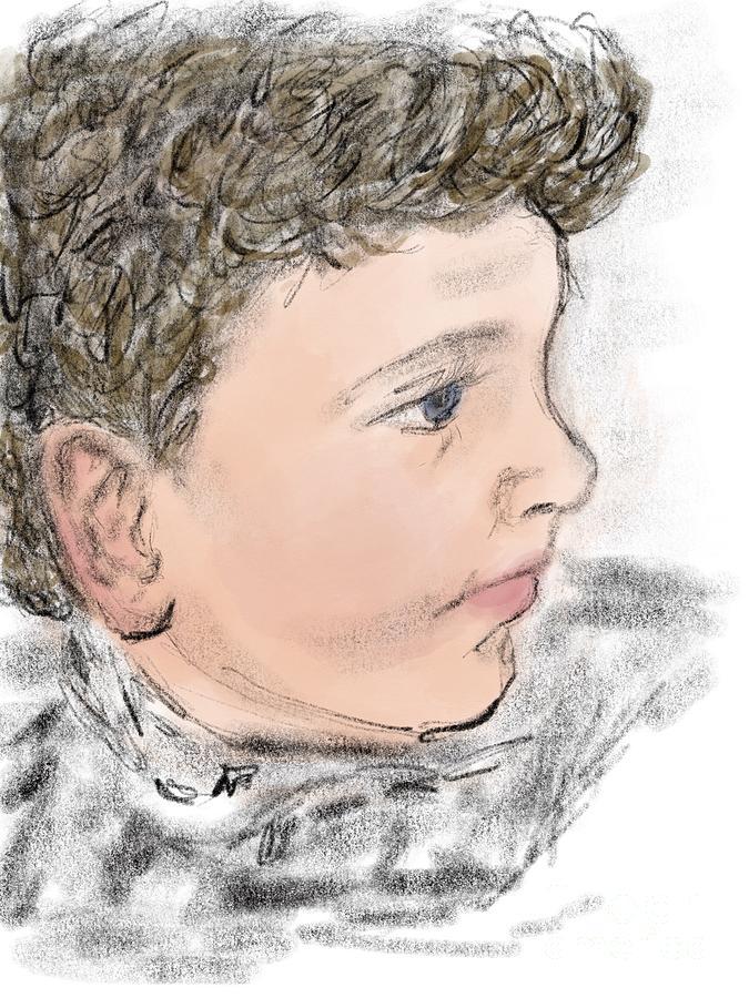 Portrait of Robert by Joan-Violet Stretch