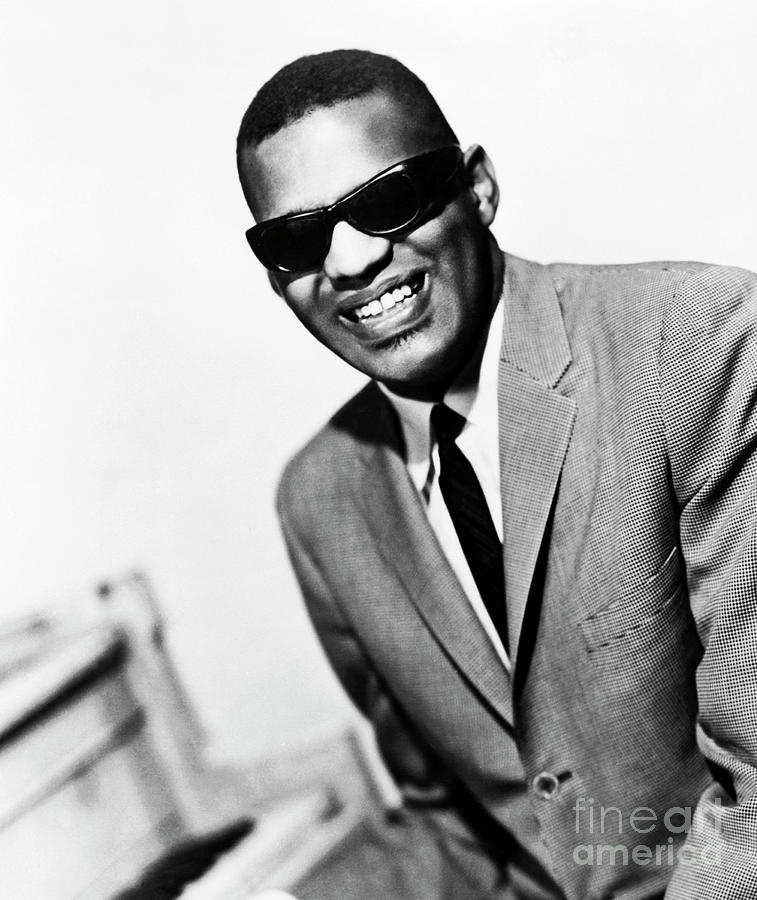 Portrait Of Singer Ray Charles Photograph by Bettmann