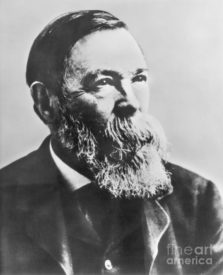 Portrait Of Socialist Friedrich Engels Photograph by Bettmann