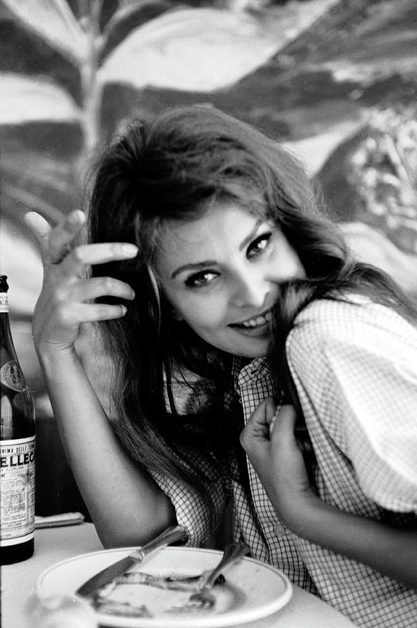 Portrait Of Sophia Loren Photograph by Alfred Eisenstaedt