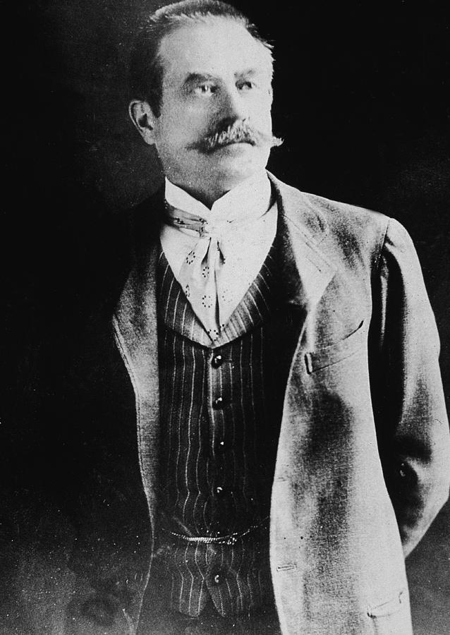 Portrait Of Stanford White Photograph by Hulton Archive