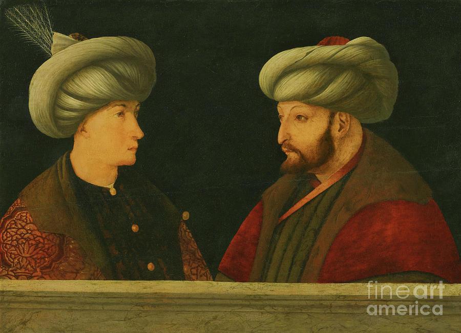 Portrait of Sultan Mehmed II  by Gentile Bellini