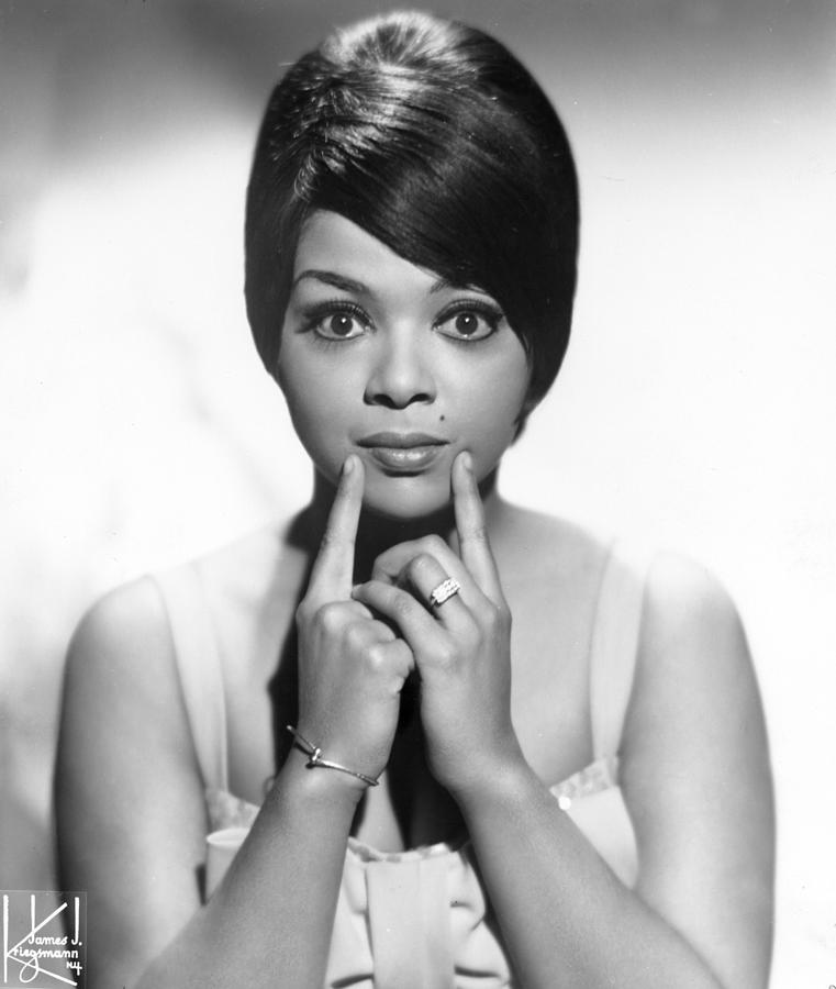 Portrait Of Tammi Terrell Photograph by Michael Ochs Archives