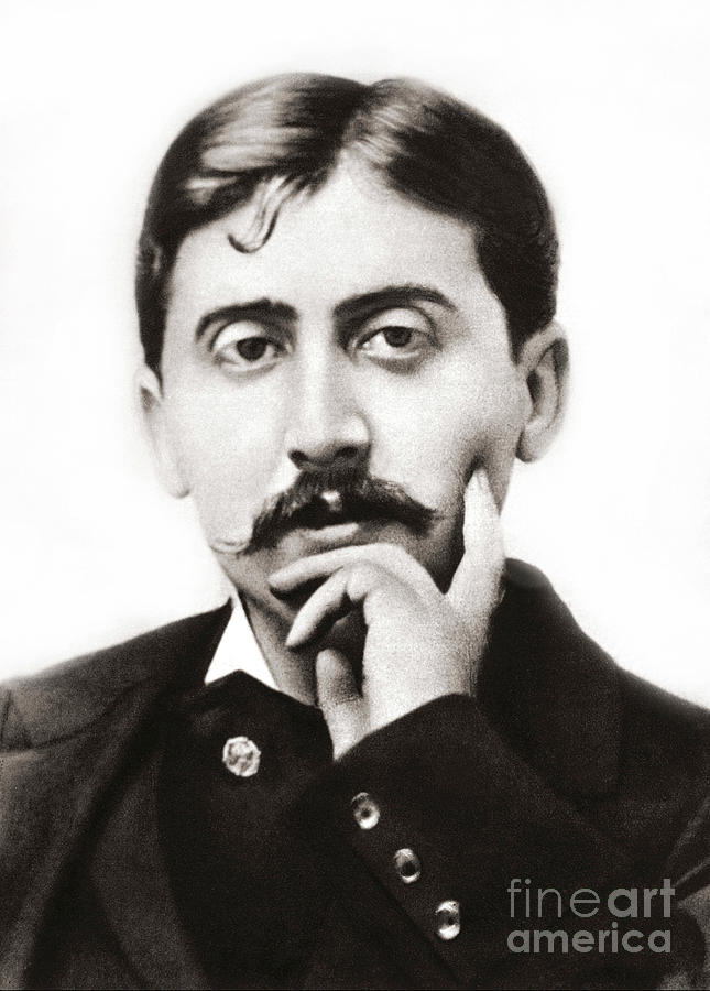 Marcel Photograph - Portrait Of The French Author Marcel Proust by French School