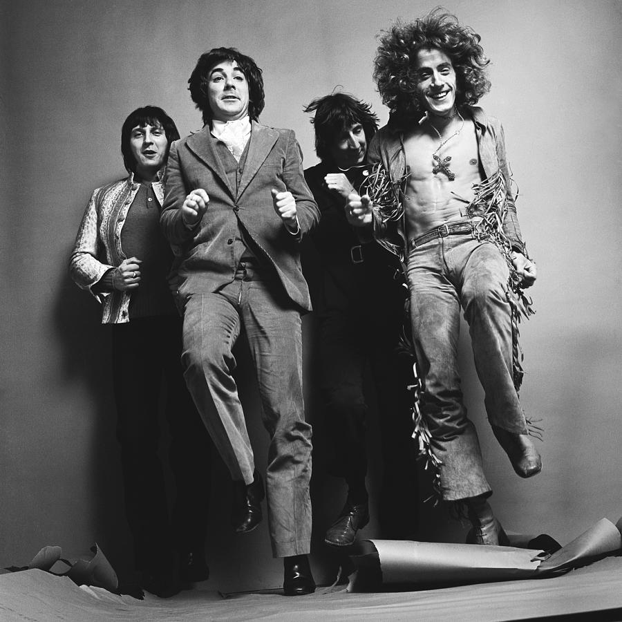 Portrait Of The Who Photograph by Jack Robinson