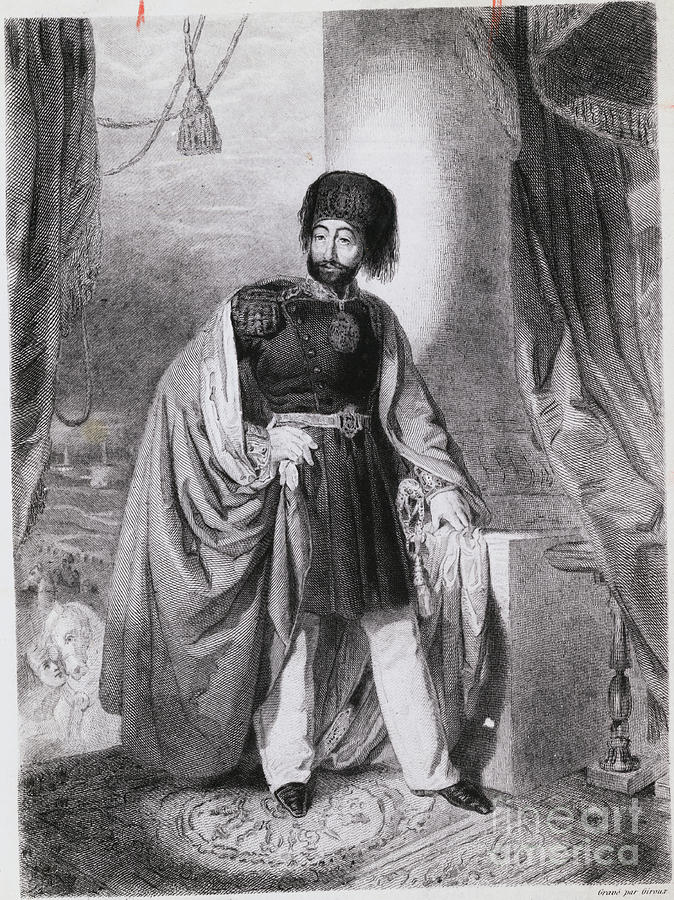 Portrait Of Turkish Emperor Mahmoud Photograph by Bettmann