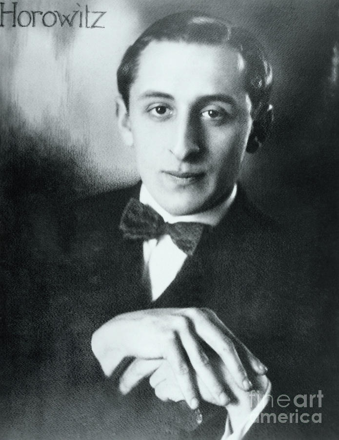 Portrait Of Vladimir Horowitz Photograph by Bettmann