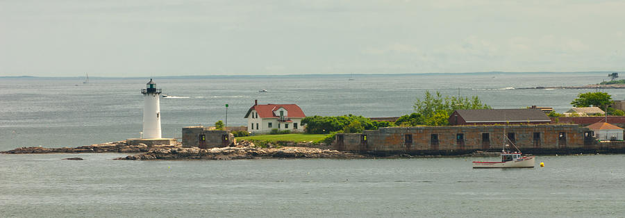 Portsmouth Harbor Light  by Paul Mangold