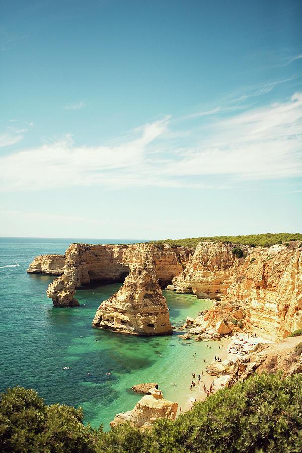 Portugal Beach Photograph by N+t*