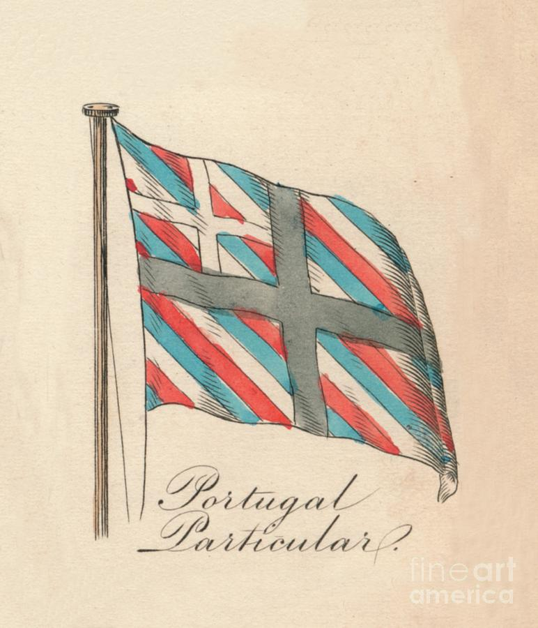 Portugal Particular, 1838 Drawing by Print Collector
