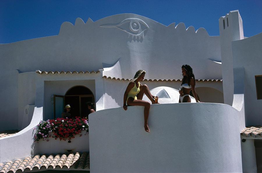Portuguese Villa Photograph by Slim Aarons