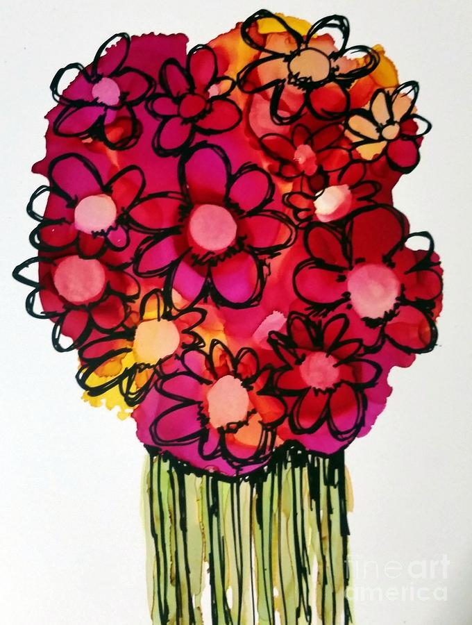 POSCA bouquet 1 by Beth Kluth