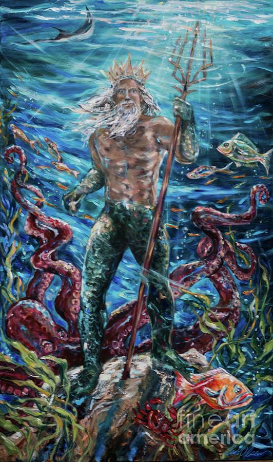 Poseidon by Linda Olsen