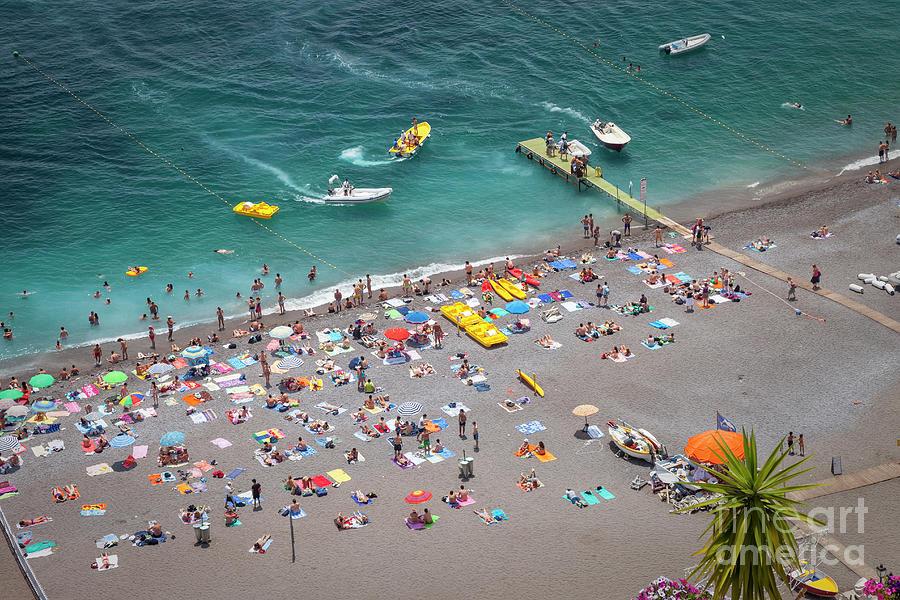 Positano Beach III by Brian Jannsen