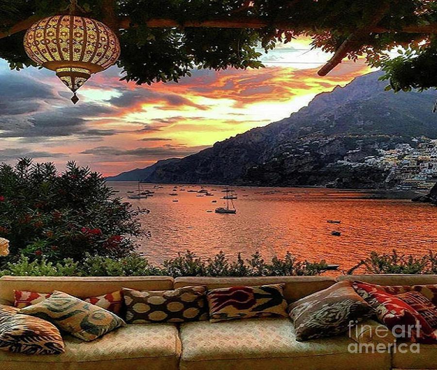 Positano Italy by Rod Jellison