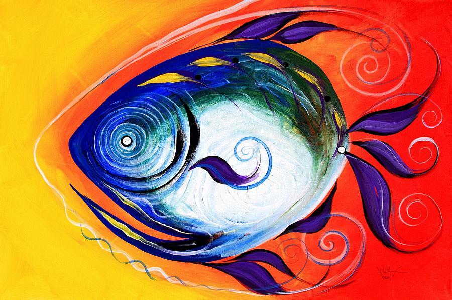 Positive Fish by J Vincent Scarpace