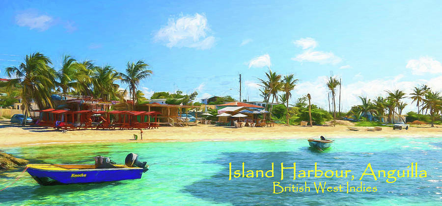 Post Card From Island Harbour Anguilla Photograph