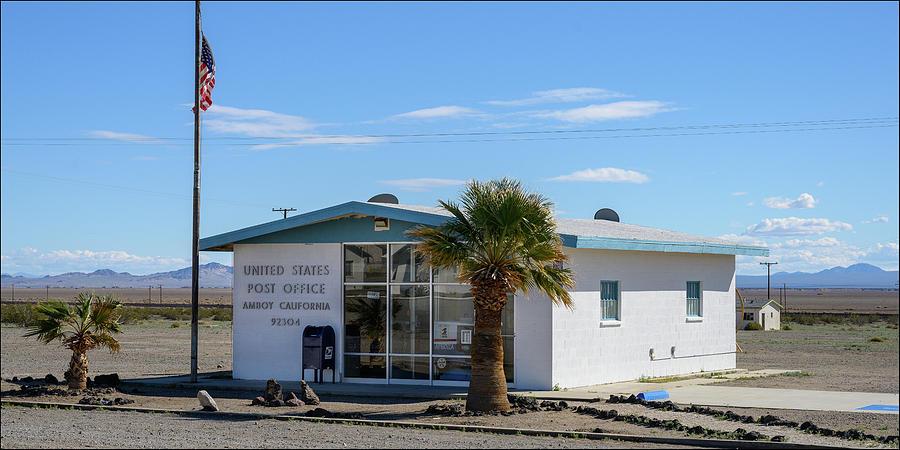 Post Office, Amboy, CA by Andy Romanoff