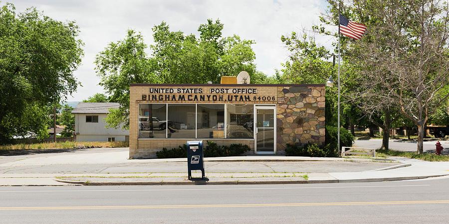Post Office, Bingham Canyon, Utah by Andy Romanoff
