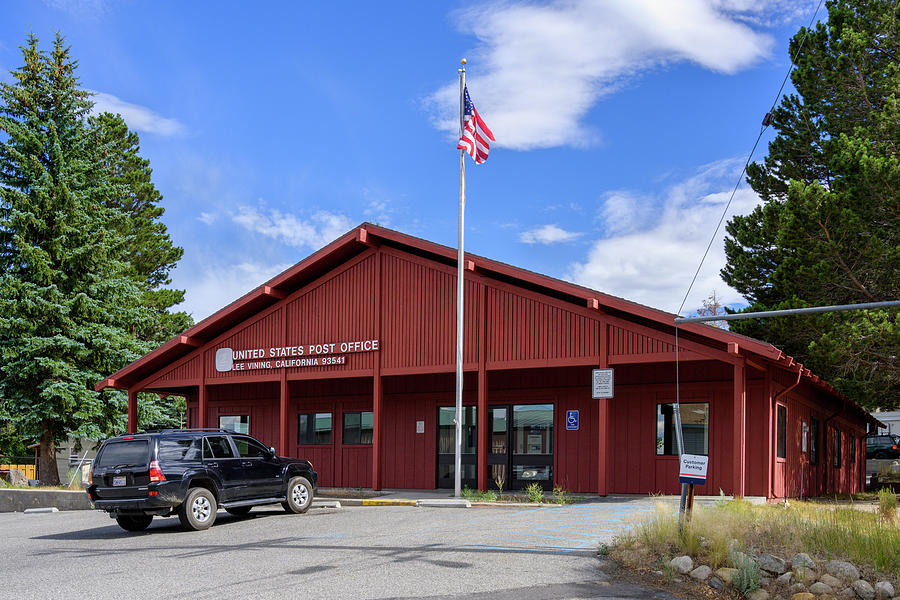 Post Office, Lee Vining, CA by Andy Romanoff