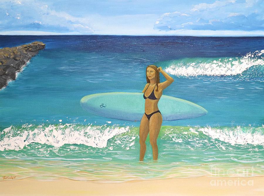 Post Surf Session by Jenn C Lindquist
