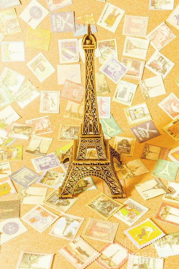 Paris Photograph - Postal Paris by Jorgo Photography - Wall Art Gallery
