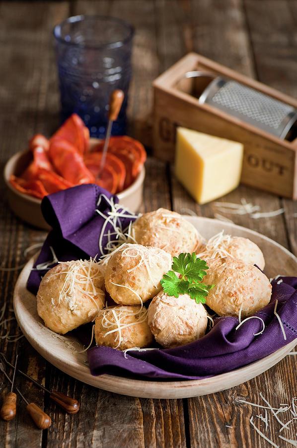 Potato  Cheese Buns Photograph by Verdina Anna