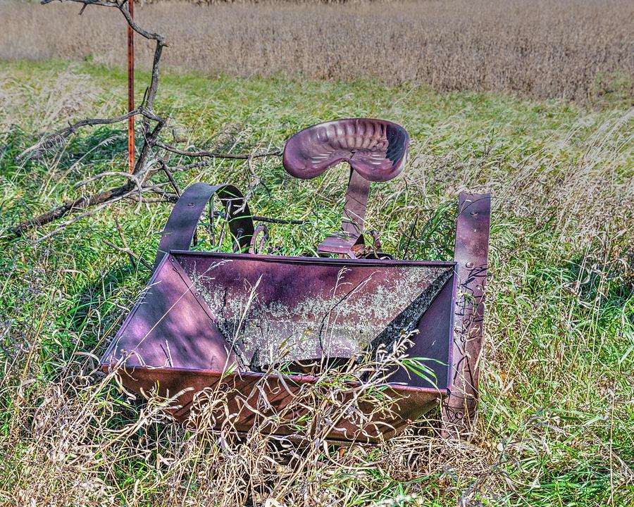Rustic Photograph - Potatoe Planter by Jim Thompson
