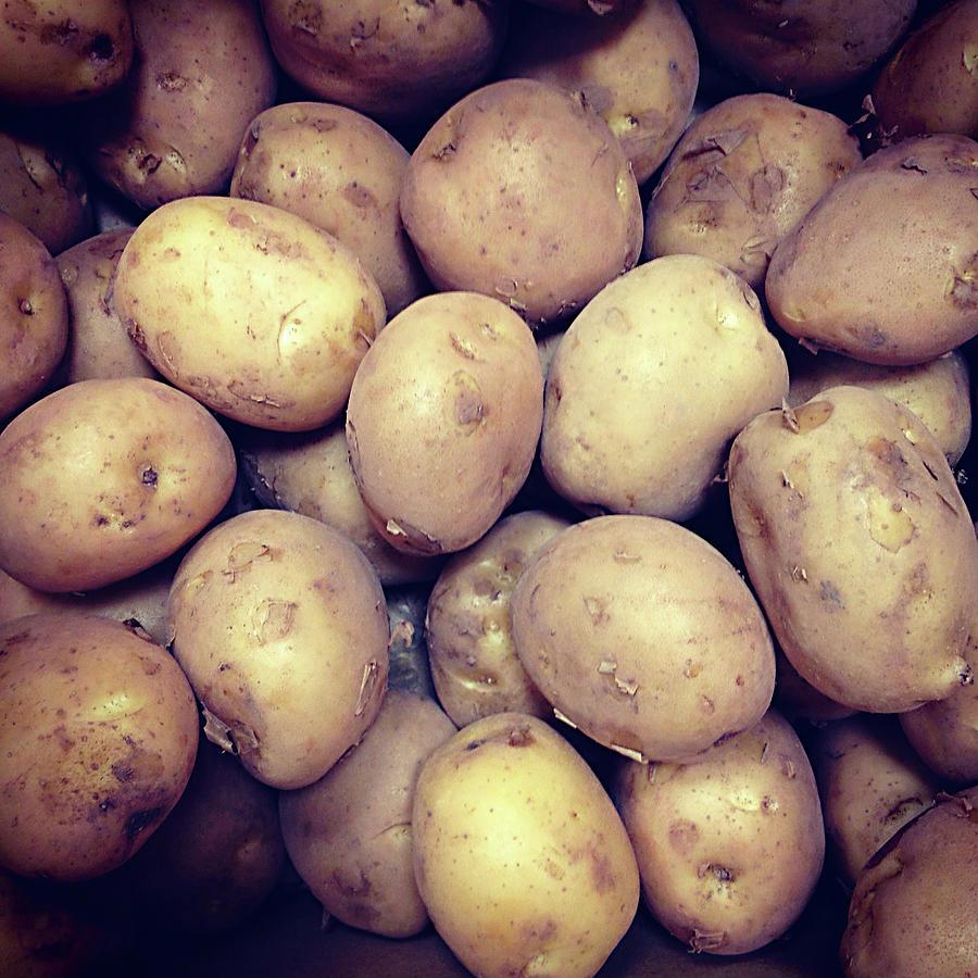 Potatoes Photograph by Digipub
