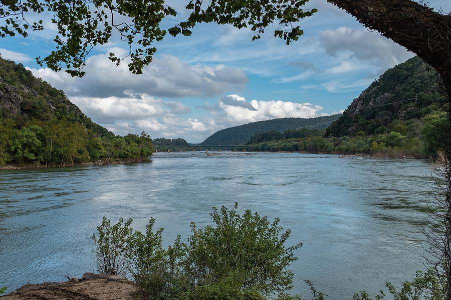 Potomac River at Harper's Ferry by Charles Kraus
