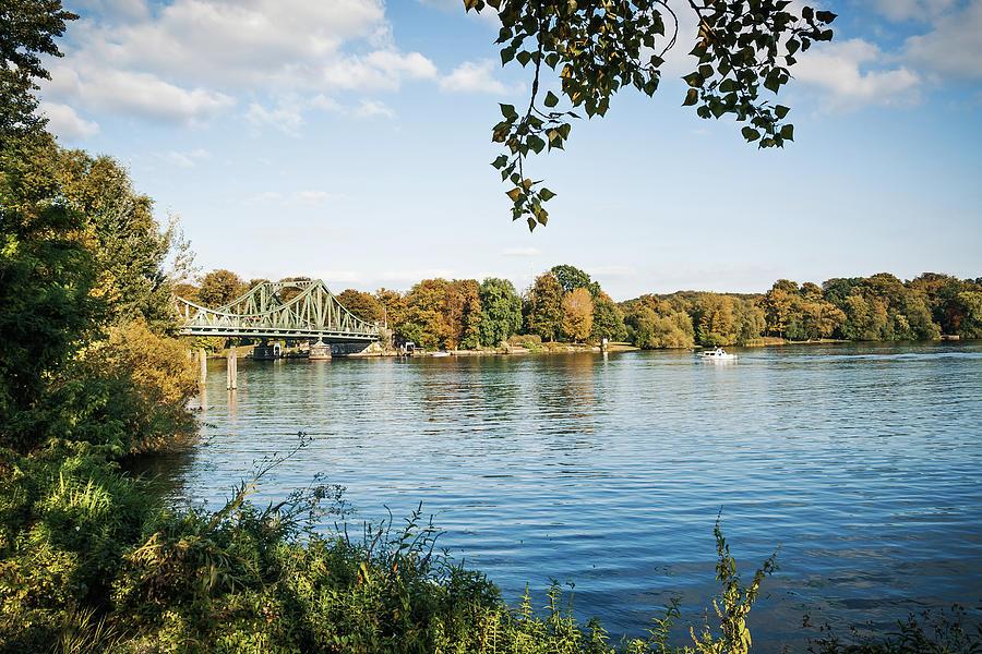 Berlin Photograph - Potsdam - Havel River / Glienicke Bridge by Alexander Voss