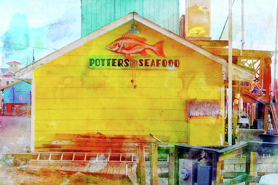 Potter's Seafood by Don Margulis
